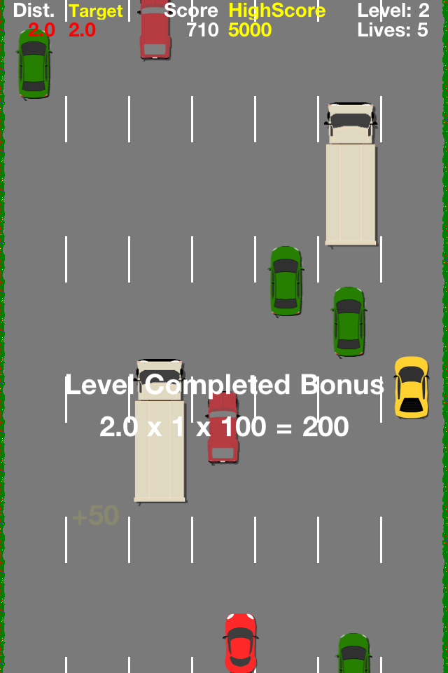 Screenshot RaceToCity
